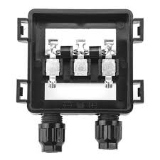 5 pcs ppo solar panel junction box 50w 100w waterproof ip67 for how to install solar panels yourself at Solar Panel Box Wiring