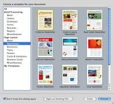 Pages For Mac Newsletter Templates Newspaper Template For Pages Mac
