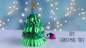 Paper Christmas Tree Lights Diy Christmas Tree How To Make Paper Christmas Tree
