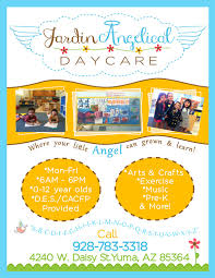 Free Printable Daycare Flyers Daycare Flyer Templates Free Printable Daycare Flyer