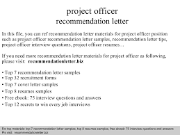 Letter Of Recommendation For Project Manager Recommendation Letter For Project Manager Barca Fontanacountryinn Com