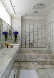 Modern Marble Bathroom Carrara Marble Tile White Bathroom Design Ideas Modern Bathroom