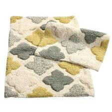 rubber backed bathroom rugs alloy tiles willow in x in 2 piece bath rug rubber backed rubber backed bathroom rugs