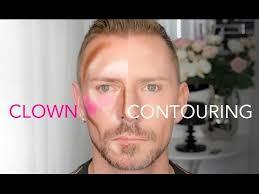 clown contouring makeup tutorial the latest trend wayne goss