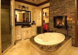 bathroom electric fireplace inert small in plan 8