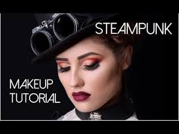 steunk makeup tutorial it s very interesting and absolutely new style for me golden bronze dels