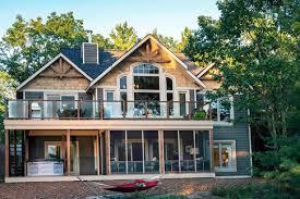 lake house plans. Contemporary Lake LoonLakehomekits485 Inside Lake House Plans E