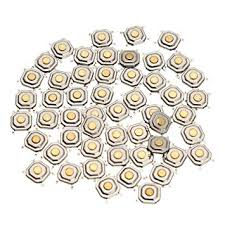 Questquo <b>150Pcs Dc12V 4 Pins</b> Tact Tactile Push Button: Amazon ...