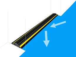 is the flood barrier threshold able to withstand the weight of a vehicle being driven over it
