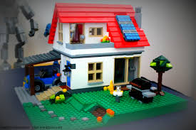 Lego Full House Full Size Lego House Mother Wife Student Worker