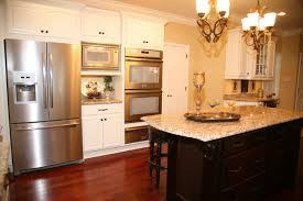 french door refrigerator in kitchen. Bosch-counter-depth-refrigerator-Kitchen-Traditional-with-double-ovens- French-door-refrigerator-granite-hardwood-flooring-Kitchen French Door Refrigerator In Kitchen E
