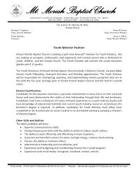 Pastor Resume Templates Beauteous Youth Group Leader Resume Templates Delijuice