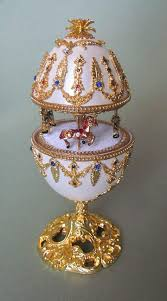 Kingspoint Designs Trinket Box Amazon Com Hand Painted Faberge Egg Style Decorative Hinged