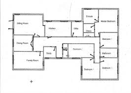 image of 5 bedroom modern house plans