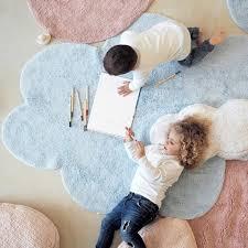 cloud shaped rug by lorena cs