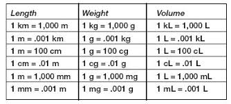 Metric Unit Conversion Chart For Kids Converting Units Of Measure Lessons Tes Teach