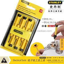precision tools stanley. stanley 6pcs / set precision screwdriver demolition notebook watches 66-052-23 tools m