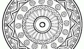 Small Picture Mandala Coloring Pages Online Free Download Mandala Coloring Pages