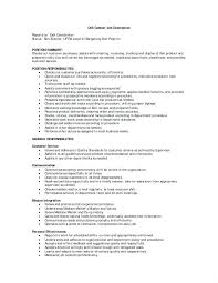 Sales Associate Job Duties Resume Duties Of A Sales Associate In ...