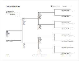 Example Of Family Tree Chart Family Tree Diagram Template 9 Free Sample Example