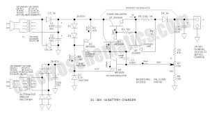 24v to 36v battery charger circuit 24 to 36v battery charger schematic
