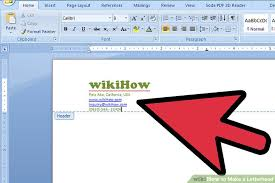 The 2 Best Ways To Make A Letterhead Wikihow