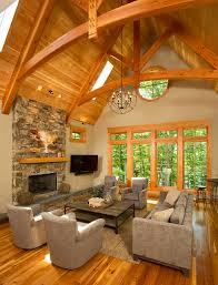 Timber Frame Timber Frame Home Interiors New Energy Works Home - Mountain home interiors