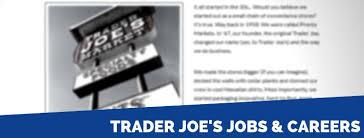 Trader Joes Application 2019 Job Requirements Career