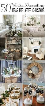 Good 50 Winter Decorating Ideas