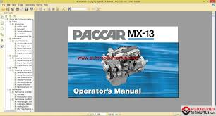 paccar engine manuals paccar mx 13 engine operator manual english more the random threads same category