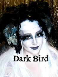 dark bird makeup tutorial raven makeup ravenrosebeauty