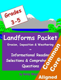 Landforms Nonfiction Texts & Questions | Classroom Caboodle