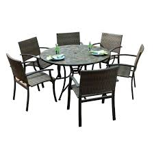 round patio dining set large size of sets home depot 9 piece outdoor table s