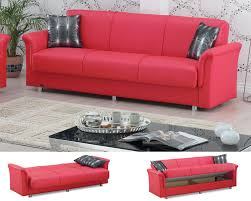 sofa bed with storage. Plain Storage Red Sofa Bed With Storage And With R