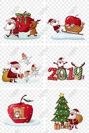 ของขวัญวันคริสต์มาสอีฟรุ่น Q มือวาดซานตาคลอสกลุ่ม Png ฟรีวัสดุ  ดาวน์โหลดรูปภาพ (รหัส) 611583220_ขนาด 5.2 MB_รูปแบบรูปภาพ PSD  _th.lovepik.com