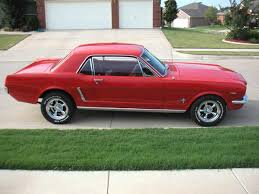 Looking for pics 65 mustang with new wheels - The Mustang Source ...