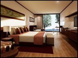 Trendige Schlafzimmer Hotel Möbel Ideen Mit Holz Base Bett Und Weiß