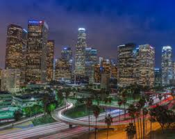los angeles skyline photography city of dreamers as seen on