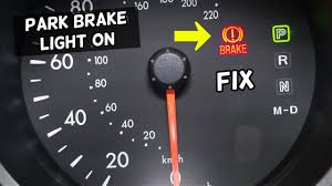 How To Fix Parking Brake Light Why Is Parking Brake Light On Handbrake Light On When Released