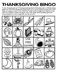 Small Picture Thanksgiving Bingo Board No2 crayolaca