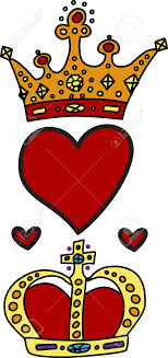 King And Queen Of Hearts Designs Show Your Royal Colors With This Regal Design Of King And Queen