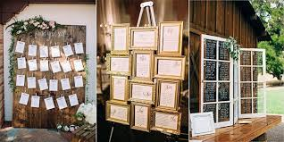 15 Table Seating Chart 15 Trending Wedding Seating Chart Display Ideas For 2018