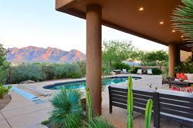 Landscape Design Oro Valley Striking Home In The Retreat At Coyote Ridge Arizona