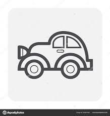 Car Outline Design Car Icon Design Black Outline Stock Vector Roncivil