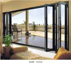 tri fold sliding glass doors folding patio doors bi fold patio doors cost