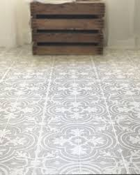 How To Tile A Kitchen Floor How To Paint Your Linoleum Or Tile Floors To Look Like Patterned