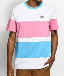 White Colorblock Odd T-shirt Stripe Pink Future Zumiez amp; Blue bbbedeaaefdcec|Framing Jobs Complete: July 2019