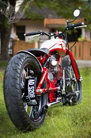 custom honda cb125 bobber dariztdesign cool cars motorcycles
