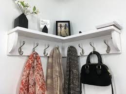 corner shelf with 10 double garment