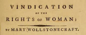 a vindication of the rights of women essay a vindication of the rights of w